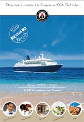 CDF Croisières de France fait paraître sa nouvelle brochure