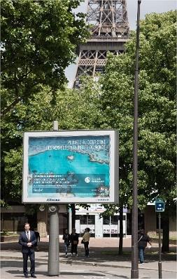 La campagne d'affichage est déployée à Paris - DR