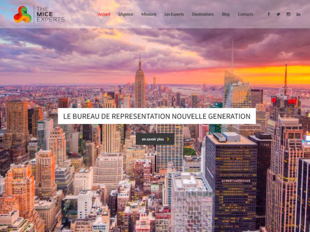 The MICE Experts met en relation direct les DMC avec l'ensemble des agences MICE françaises. Relier les expériences pour assurer un service sur mesure. (c) Capture The MICE Experts