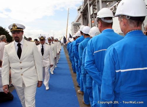 I - Baptême du MSC Splendida à Saint Nazaire : e la nave va !