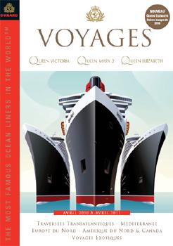 Cunard : nouvelle brochure 2010/2011