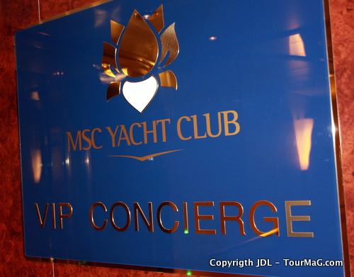 II - MSC Yacht Club : les hommes aux clés d'or à bord du MSC Splendida