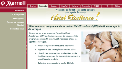 Marriott Int. lance 2 e-learnings en version française