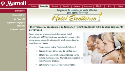 Marriott Int. lance 2 e-learnings en version française