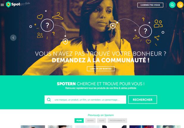 En juin, Spotern a lancé une nouvelle fonctionnalité qui permet aux contributeurs d'identifier les lieux (hôtels, restaurants, lieux touristiques, boutiques, immobilier,…) qui apparaissent dans les films, les séries, les clips et les programmes TV (c) Spotern