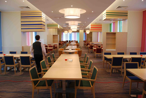 Salle de restaurant - Pribaltiyskaya