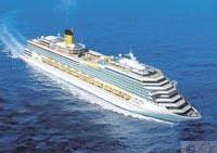 Le Costa Magica, jumeau du Costa Fortuna, est entré en service à la fin de l'exercice 2004. C'est le plus grand navire de la marine italienne.