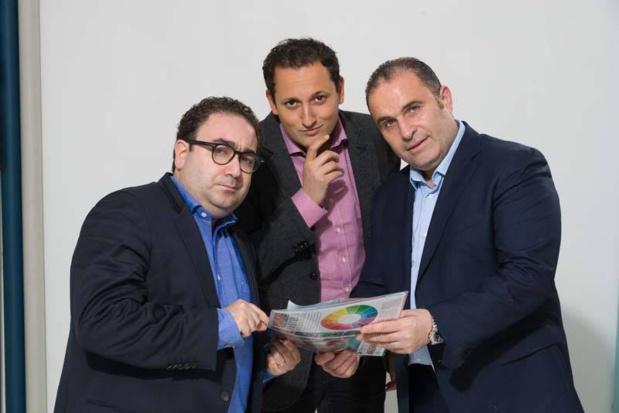 Les fondateurs d'Ametix : Vincent Klingbeil, Stéphane Boukris et Patrick Bunan - DR