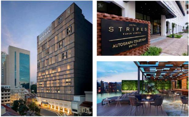 L'hôtel Stripes de Kuala Lumpur propose 184 chambres - Photos : YTL Hotels