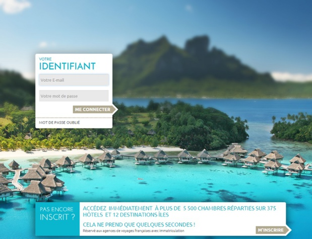 Le site Hôtels & Lagons - DR