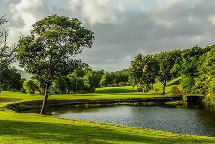 Le Saint Lucia Golf Club à Sainte Lucie - DR