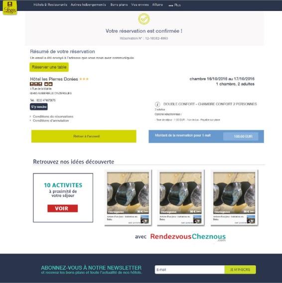 La Fédération Internationale des Logis s'associe à RendezvousCheznous.com