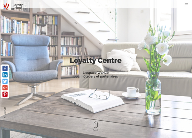 Wanup lance une plateforme en ligne permettant aux hôteliers de connaître les dernières tendances du secteur, mais aussi d'augmenter leur productivité (c) Capture Wanup