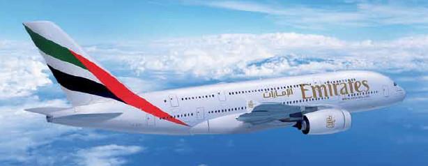 L'A380 d'Emirates débutera ses opérations sur Nice le 1er juillet 2017 - Photo : Emirates