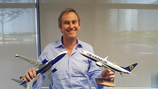Mick Hickey, Directeur des Opérations de Ryanair - DR