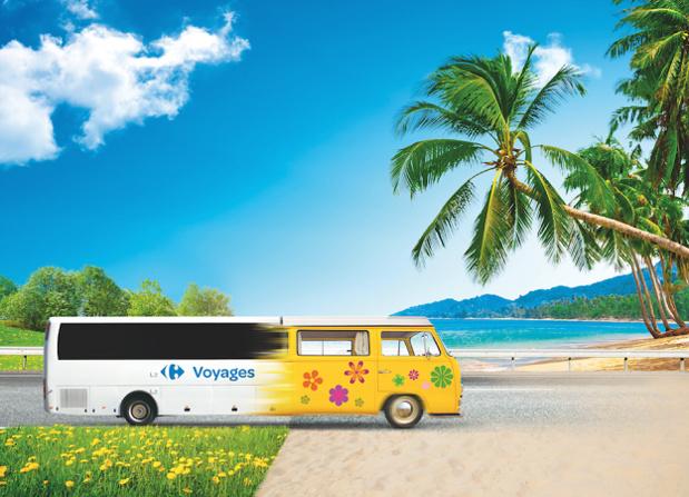 Carrefour Voyages part à la rencontre des professionnels du tourisme et du grand public en France du 26 au 30 juin 2017 - DR : Carrefour Voyages