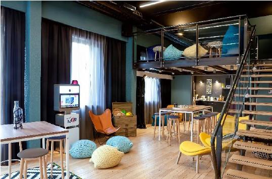 Le N'Loft du Novotel Lyon Gerland Musée des Confluences propose des divertissements pour les pauses - Photo : Novotel
