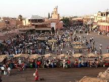 Marrakech a concentré environ 31% des nuitées touristiques, suivie d'Agadir, Casablanca, Fès, Rabat, Ouarzazate, Meknès et Tétouan.