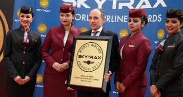 Qatar Airways reçoit le Skytrax de la meilleure compagnie aérienne du monde - DR