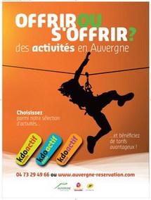 """Coffret cadeau : l'Auvergne lance les """"kdoactifs"""""""