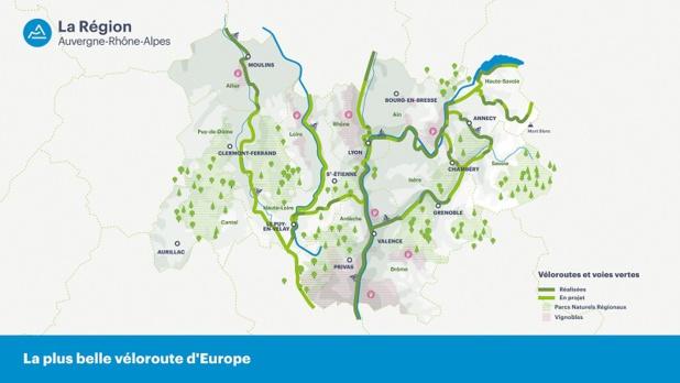 Auvergne-Rhône-Alpes veut devenir la région européenne leader sur le tourisme à vélo