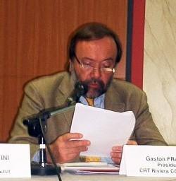 Gaston FRANCO, Président du CRT Riviera