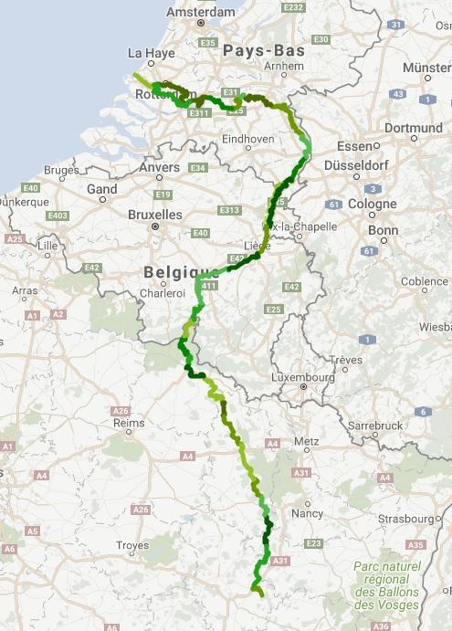 L'itinéraire cycliste la Meuse à Vélo - DR
