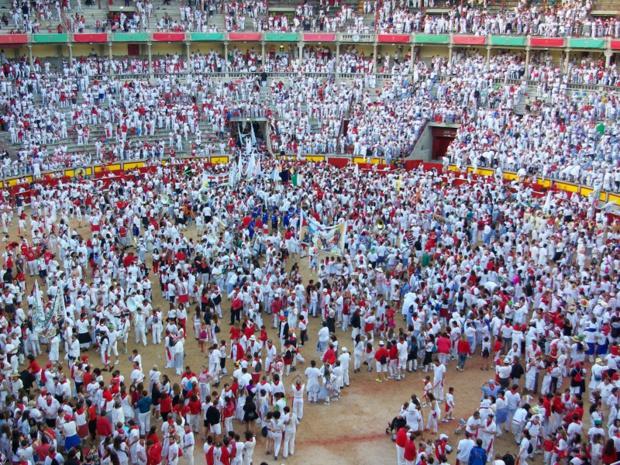 Avec la fête de la Bière à Munich, la San Fermín est le plus grand rassemblement d'Europe - DR : J.-F.R.