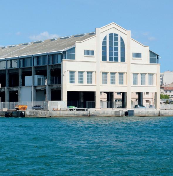 L'appel à projet du port de Marseille concerne la halle du J1 située dans le quartier de la Joliette - Photo : Port de Marseille
