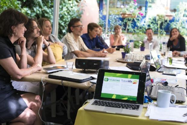 La formation « Tourisme responsable et son évaluation par les professionnels du voyage » était animéé par Julien Buot, Directeur d'Agir pour un Tourisme Responsable - DR : ATR