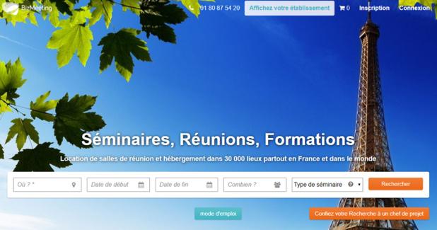 BizMeeting développe son activité avec son Meeting Booking Tool - Capture d'écran
