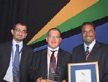 INDABA : Kamel Boudjelal décroche un Award SAA