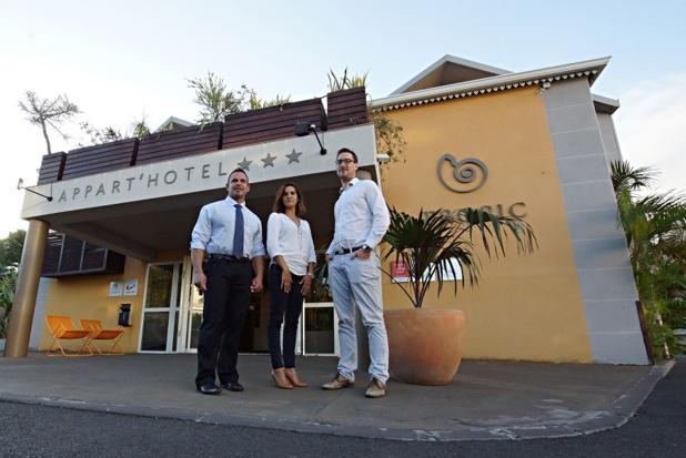 La famille Verlaine a racheté le Tropic Appart'Hôtel sur l'île de la Réunion - Photo : Tropic Appart'Hôtel