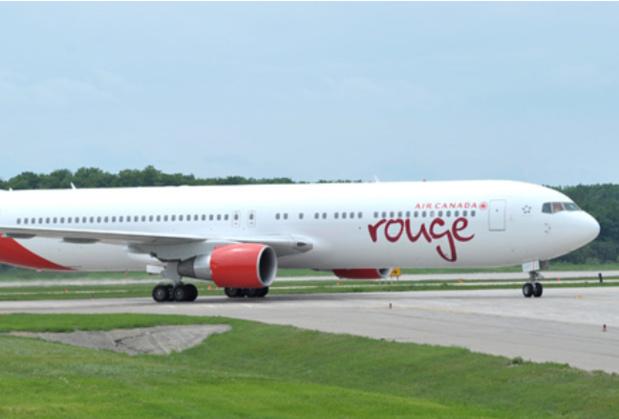 Air Canada ROuge a réalisé son premier vol début juillet 2013 - Photo : Air Canada Rouge