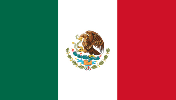 Drapeau du Mexique - DR : Wikipedia