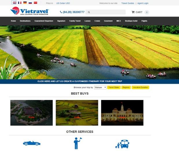 Vietravel veut séduire les agences de voyages françaises et vient de recruter deux commerciaux qui vont très prochainement prendre contact avec les agences - DR : Capture d'écran Vietravel