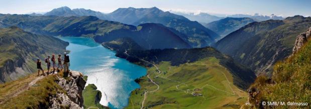 L'été 2017 s'annonce bon pour Savoie Mont Blanc Tourisme - Photo : SMB/M. Dalmasso