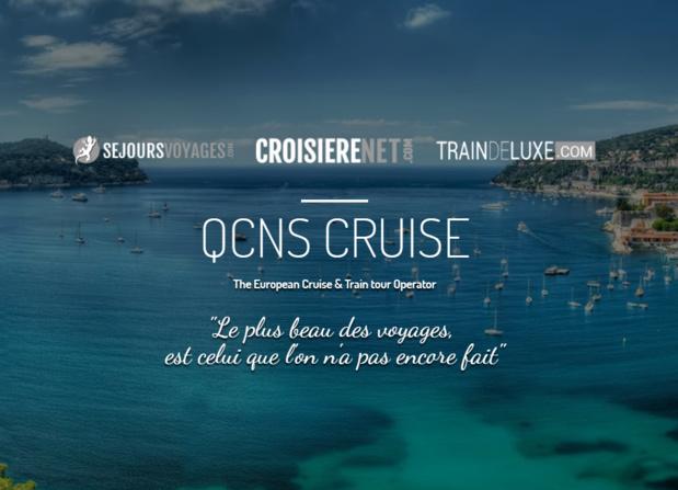 """Pierre Pelissier (QCNS Cruise) : """"La croissance externe est une piste importante à la fois sur les marchés sur lesquels nous sommes présents mais également pour conquérir de nouveaux marchés tels que l'Allemagne"""" - Capture écran"""