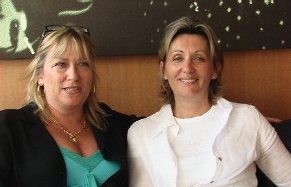 Michèle Laget-Herbaut, présidente du Snav Ile de France et Patricia Chastel, 2 des chevilles ouvrières de la 7e Convention