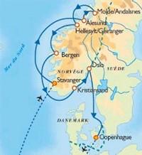 Transtours : Fjords et Norvège du sud