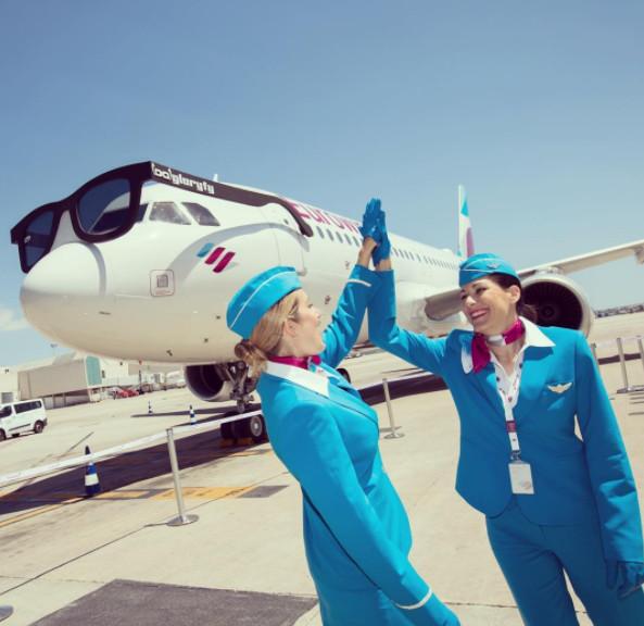 Eurowings : 10 nouveaux vols au départ de Munich pour 2018
