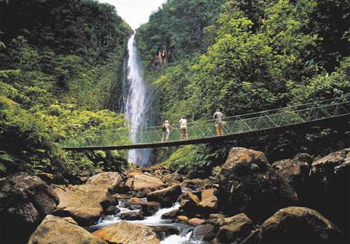 Un hymne à la nature - Chutes du Carbet / Copyright Les Iles de Guadeloupe