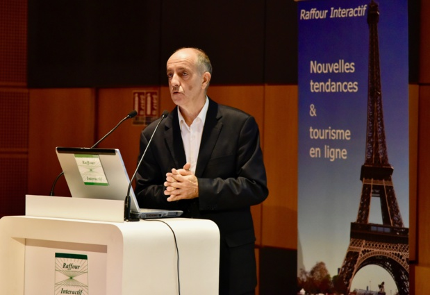 Guy Raffour présente les points forts de son baromètre annuel - DR