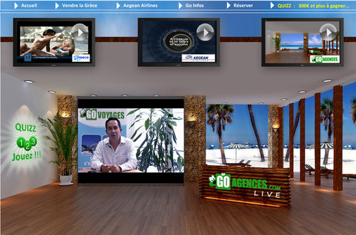 Le site Go Agences Live pour les agents de voyages