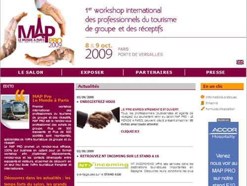 ''Top Resa ? Ce ne sont ni les mêmes visiteurs ni les mêmes exposants. 77 % des exposants du MAP Pro  concernent la destination France et 23 % des réceptifs étrangers...''