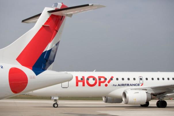 151 vols sur 481 ont été annulés jeudi 13 juillet chez Hop!, à cause de la grève des pilotes © DR