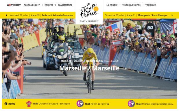 Marseille accueille le Tour de France samedi 22 juillet 2017 - DR : Tour de France