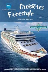 Echos du Large : la nouvelle brochure Croisières Freestyle NCL vient de paraître