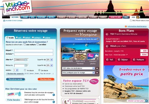 """V - Voyages-SNCF.com : """"le trafic sur notre site mobile a explosé cet été''"""