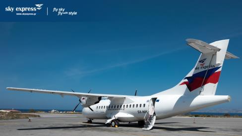 Depuis le 1er juillet, Aviareps a ainsi la responsabilité de promouvoir Sky Express sur le marché français - DR